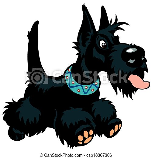 How To Draw A Scottie Scottish Terrier Step 2