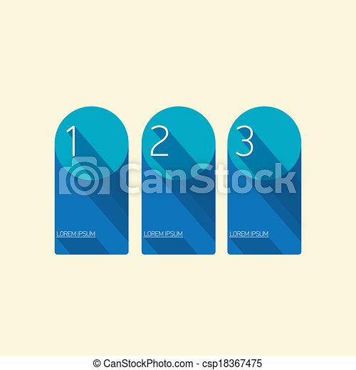 Vektoren illustration von blaues modern poppig wohnung for Meine wohnung click design download