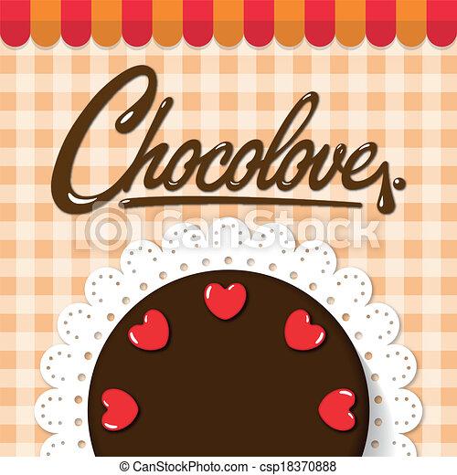 Chocolate Cake Artwork