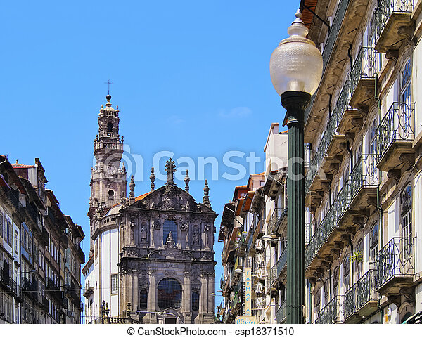 Clerigos Church in Porto - csp18371510