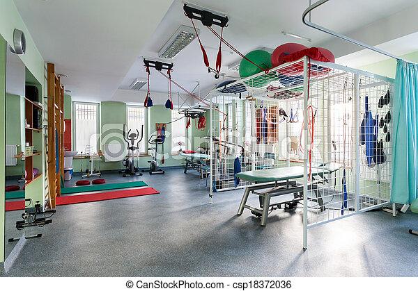 salle, Rééducation - csp18372036