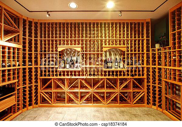Images de maison cave conception id e vin clair maison vin csp18374184 recherchez for Cave a vin maison