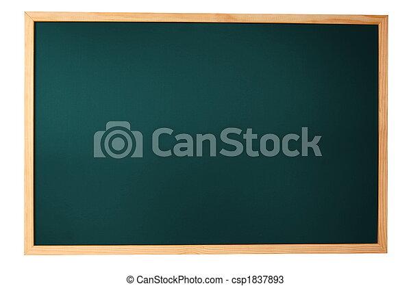 empty blackboard - csp1837893