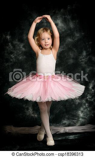 little ballerina - csp18396313
