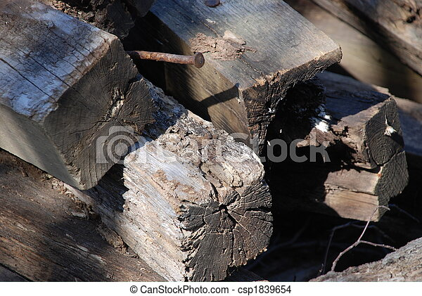 Railroad Ties II - csp1839654