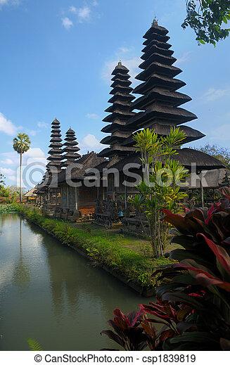 Ancient temple, Bali, Indonesia - csp1839819