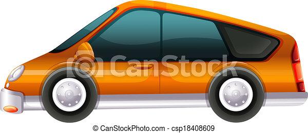 An elegant automobile - csp18408609
