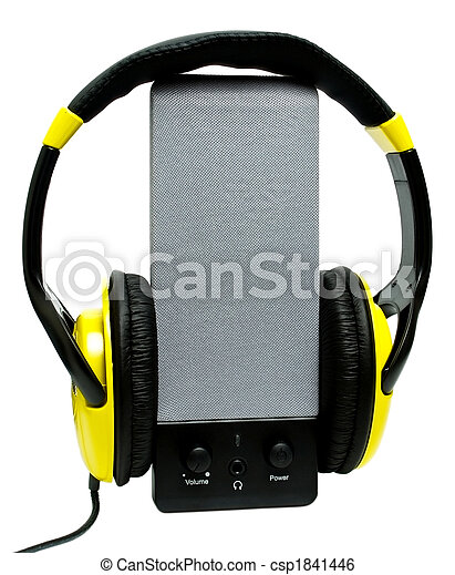 Speaker headphones - csp1841446