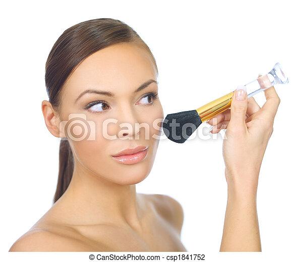 Doing Makeup - csp1841752