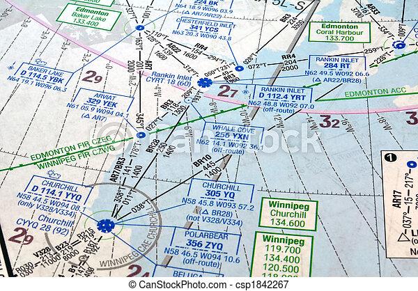 航行, 圖表, 空氣 - csp1842267