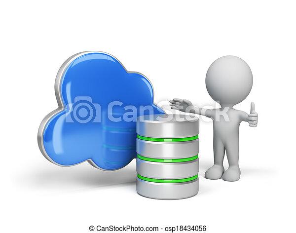 The concept of data storage - csp18434056