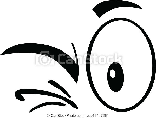 Eye Clip Art Black And White