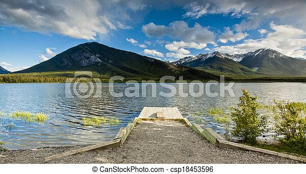 Vermillion Lake, Banff - csp18453596