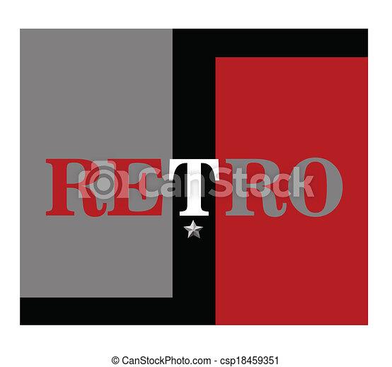 retro background  - csp18459351