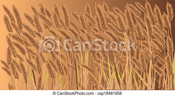 Field Crops Clipart Crop Field Csp18461656