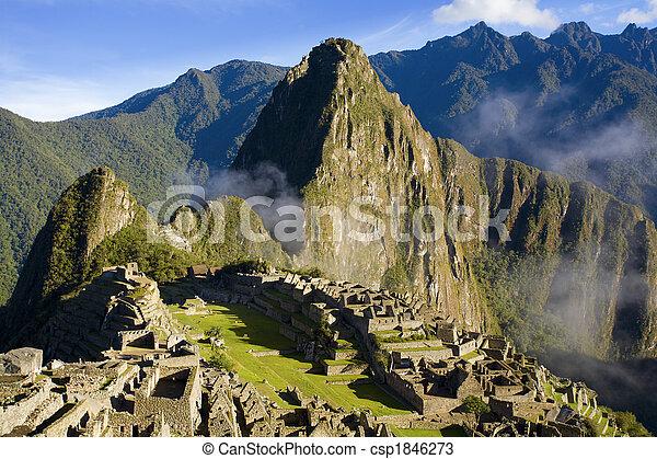 Machu Picchu - csp1846273