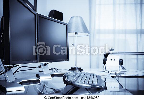 家, 辦公室 - csp1846289