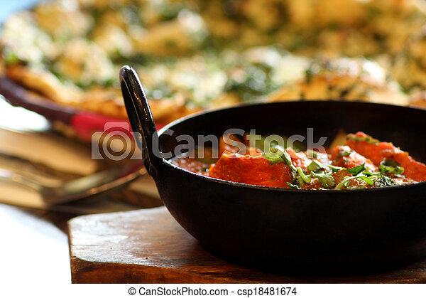 Indian Food - csp18481674