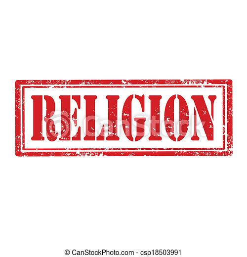 Religion-stamp - csp18503991