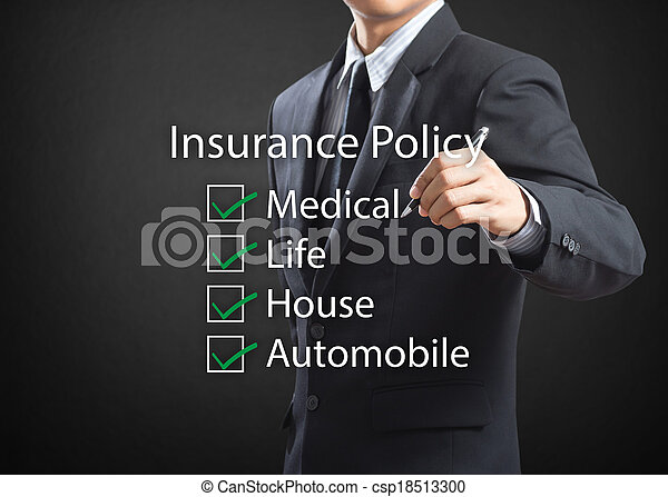 life insurance policy - csp18513300