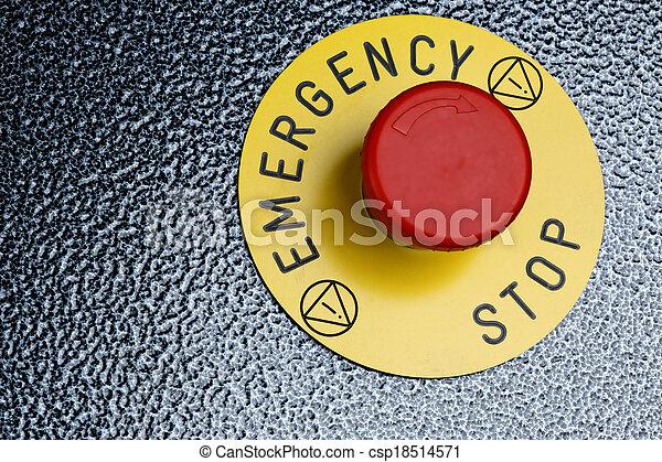 Emergency Button - csp18514571
