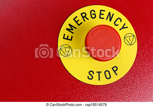 Emergency Button - csp18514579