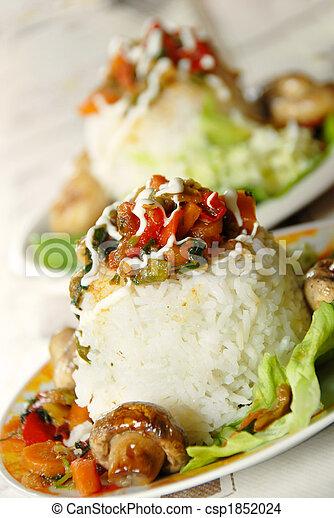 Rice dinner - csp1852024