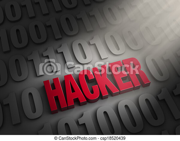 Revealing A Hacker In The Computer Code - csp18520439