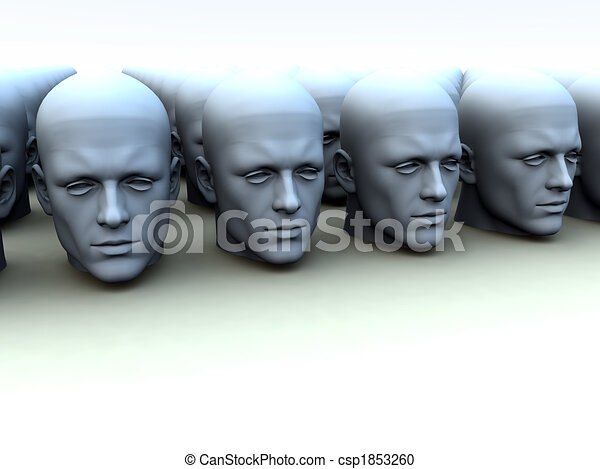 Identical Heads - csp1853260