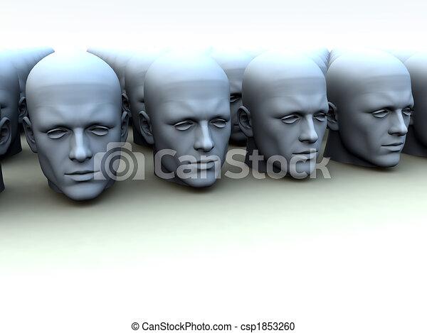 Identical Heads - csp1853260