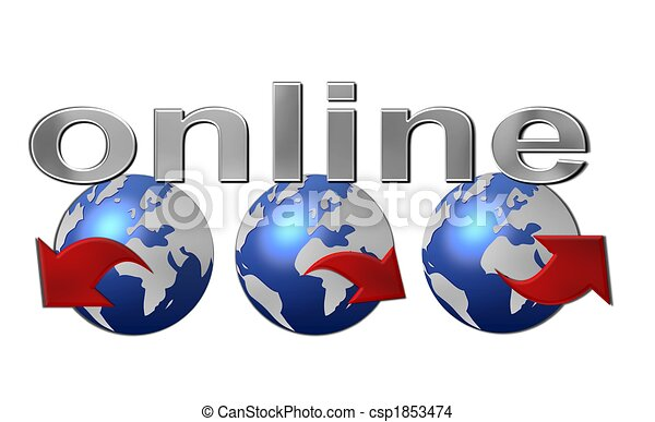 worldwide web online - csp1853474
