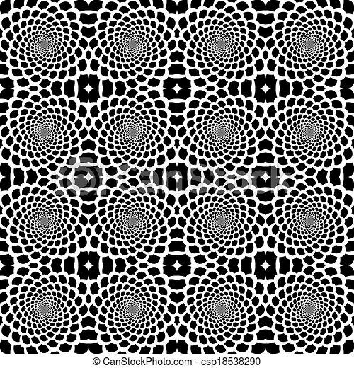 EPS Vectors of Design seamless monochrome helix movement snakeskin ...