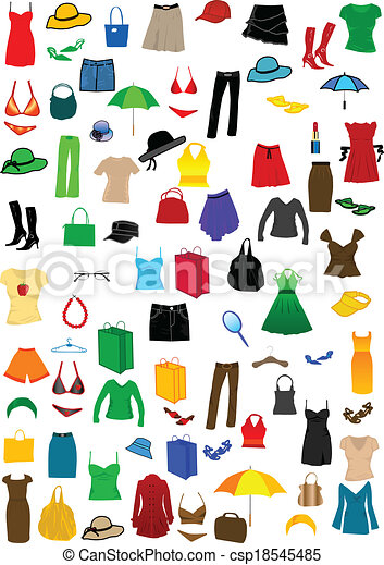 Dressing Women - csp18545485