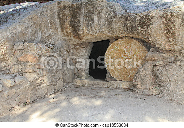 Replica of the Tomb of Jesus in Isr - csp18553034