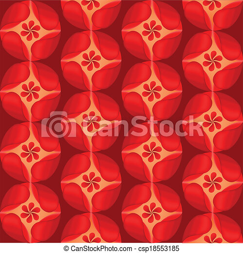 red flowers background petal  - csp18553185