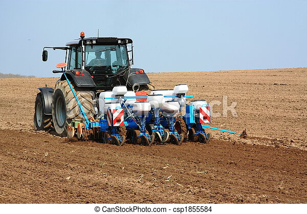 Agricultural Planter - csp1855584