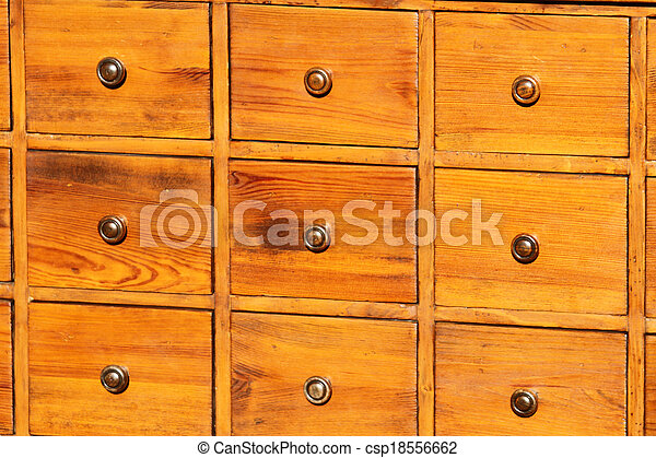antique chest of drawers in solid wood with brass knobs on sale
