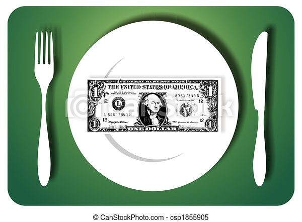 Eating savings - csp1855905