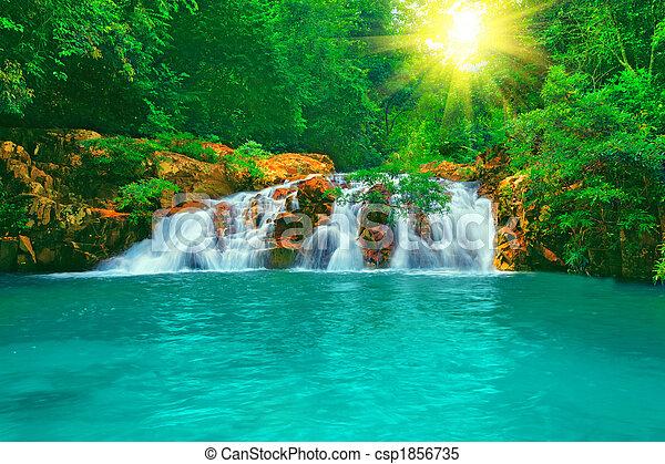 Waterfall - csp1856735