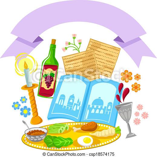 passover design - csp18574175