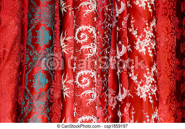 Chinese silk - csp1859197