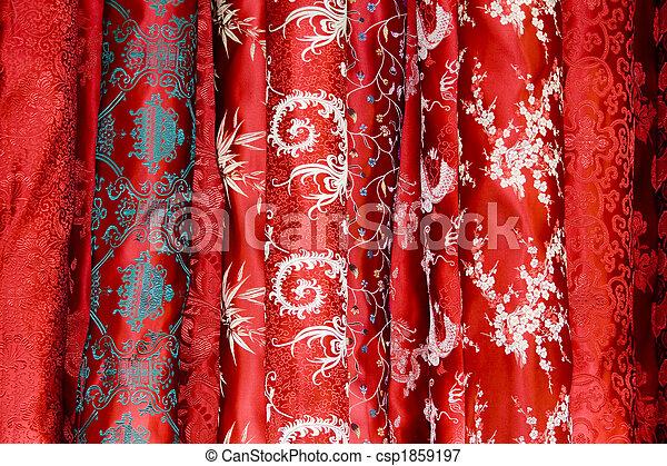 Chinese silk  - csp1859197
