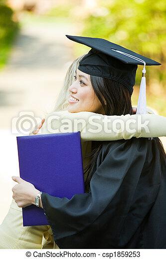 Graduation girl - csp1859253