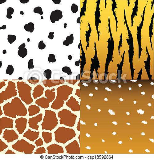 Pattern of animals - csp18592864