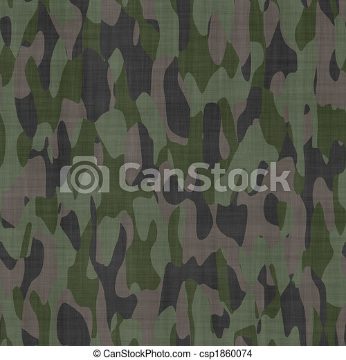 camouflage material background texture - csp1860074