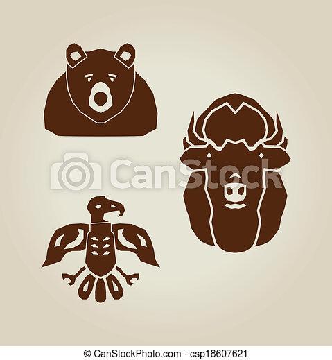 indian animals - csp18607621