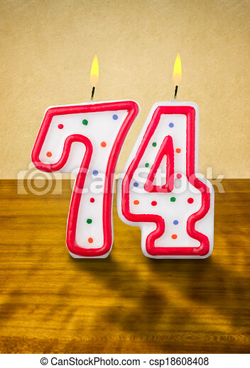 number 74 clipart