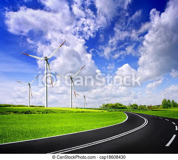 Power of nature - csp18608430