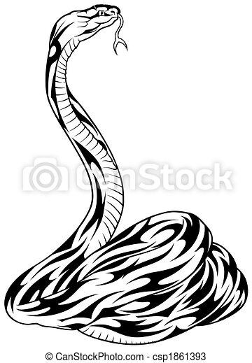 Disegni di serpente tatuaggio 04 nero for Serpente nero italiano