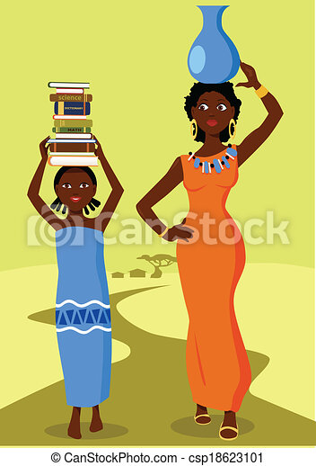 Vector Clipart Of Education In Third World Countries